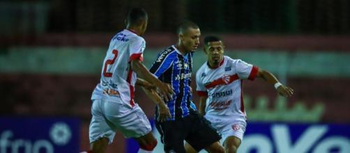 Grêmio tem noite morna contra o São Luiz, mas meninos se destacam (Lucas Uebel/Grêmio)