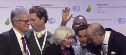 'Historic' Paris climate deal adopted (Image source: CBC News/YouTube)