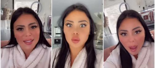 Maeva Ghennam furieuse : la candidate des Marseillais à Dubaï harcelée à l'hôpital et dans ses villas - capture d'écran