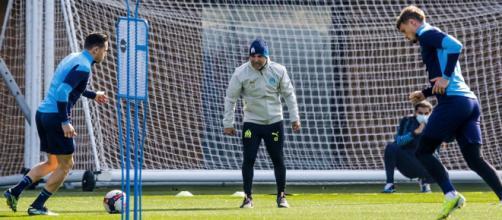 Jorge Sampaoli très dur avec ses joueurs lors des entraînements. (© Photo Icon Sport)