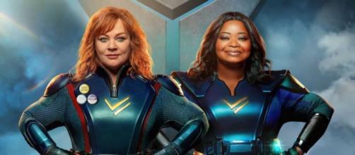 Melissa McCarthy e Octavia Spencer combatem o crime em 'Esquadrão Trovão', comédia da Netflix (Reprodução/Netflix)