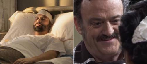 Una vita, spoiler al 17 aprile: Felipe ricoverato in ospedale, Cesareo bacia Arantxa.