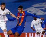 Benzema marcó un golazo en el primer tiempo (Twitter @realmadrid)