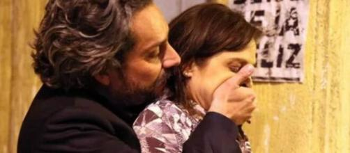 Alfredo e Cora em 'Império' (Reprodução/TV Globo)