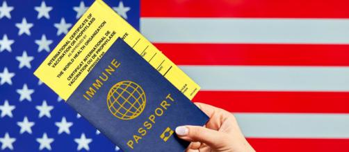 Traveling to US with vaccine passport and International certificate of vaccination (Image source: Marco Verch Professional/Flickr)