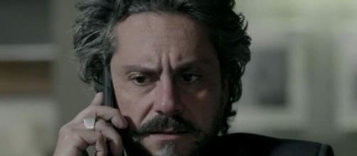 Zé Alfredo será revelado como pai de Cristina em 'Império'. (Reprodução/TV Globo)