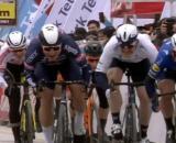 La volata vincente di Mark Cavendish al Giro di Turchia