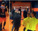 Une embrouille a éclaté entre des membres du MHSC et de l'OM samedi soir dernier. (capture d'écran Canal Football Club).