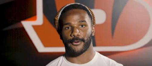 Bernard played eight seasons with the Bengals (Image source: Cincinnati Bengals/YouTube)