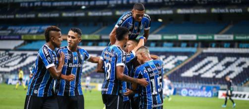 Grêmio pode ter ano prejudicado por eliminação precoce na Libertadores (Lucas Uebel/Grêmio)