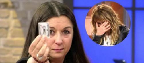 La reacción de Emma García ante el momento surrealista de Cristina Cárdenas (Capturas de Pantalla Telecinco)
