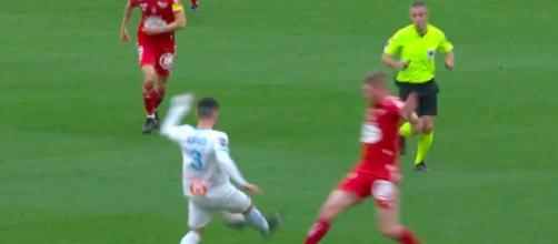 Le coup de gueule d'Alvaro Gonzalez contre l'arbitrage - Photo capture d'écran vidéo Twitter