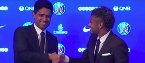 Le jour ou Neymar a failli signer au PSG - Photo capture d'écran vidéo YouTube