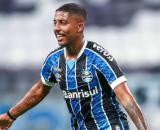 Jean Pyerre pode aparecer como titular no Grêmio (Lucas Uebel/Grêmio)