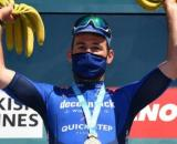 Mark Cavendish sul podio al Giro di Turchia