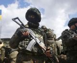 Un contingente militare ucraino.