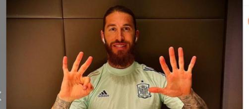 A la lesión muscular de Sergio Ramos se suma ahora su positivo en Covid-19. (Instagram @sergioramos)