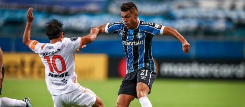 Grêmio perde Pinares para confronto decisivo do ano (Lucas Uebel/Grêmio)