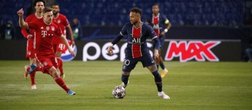 Neymar dio un partido enorme en al vuelta contra el Bayern Munich. (@PSG_espanol)