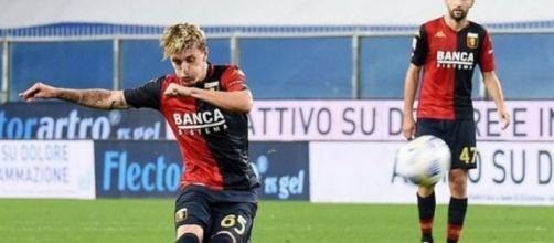 Nicolò Rovella, centrocampista del Genoa.