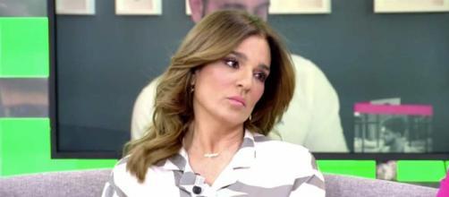 Raquel Bollo, en 'Sálvame' (Captura de Telecinco)