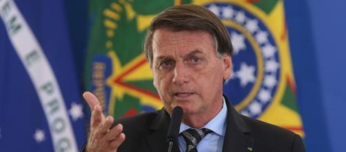 Bolsonaro dá declaração enigmática na entrada do Palácio da Alvorada (Fabio Rodrigues Pozzebom/Agência Brasil)