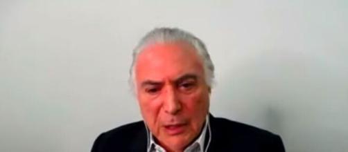 Ex-presidente Michel Temer comentou sobre momento do governo de Jair Bolsonaro. (Reprodução/YouTube)