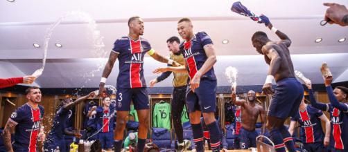 La joie des parisiens après leur qualification en vidéo - Photo capture d'écran Twitter PSG