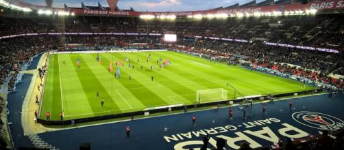 Le Paris Saint-Germain reçoit l'AS Monaco au Parc en Coupe de France le 26 avril 2017. ©Wikimedia Commons