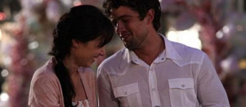 Manuela e Rodrigo em 'A Vida da Gente' (Reprodução/TV Globo)