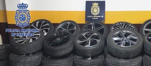 Material incautado (POLICIA NACIONAL)