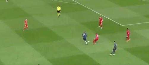 Neymar et Di Maria ont régalé face au Bayern Munich. (Twitter RMC Sport)