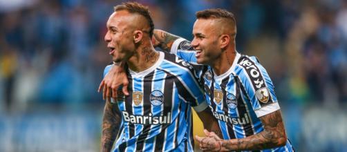 O Grêmio conta com uma base que rende dentro de campo e aos cofres do clube (Lucas Uebel/Grêmio)