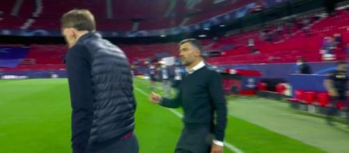 Tuchel aurait insulté le coach de Porto - Photo capture d'écran vidéo