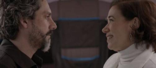 Zé Alfredo e Marta em 'Império' (Reprodução/TV Globo)