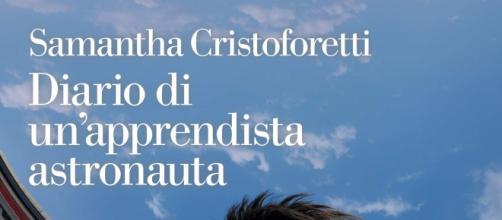 Samantha Cristoforetti, la copertina di Diario di un'apprendista astronauta.