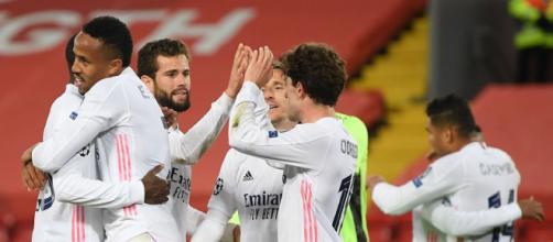 El Real Madrid está de regreso a las semifinales (@realmadrid)