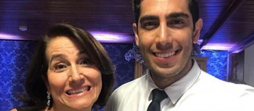 Jonathan Nemer pede orações após mãe ser internada com Covid-19 (Reprodução/Instagram)