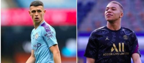 Phil Foden donne rendez-vous à Kylian Mbappé - Photo capture d'écran photos Instagram