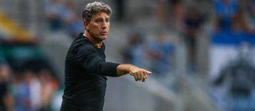 Renato Gaúcho pediu para deixar o Grêmio (Lucas Uebel/Grêmio)