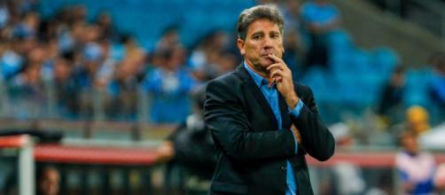 Renato vive situação delicada no Grêmio (Lucas Uebel/Grêmio)