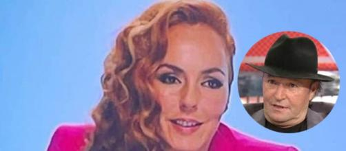 Rocío Carrasco demandará a su tío Amador Mohedano por lo que dijo sobre ella en el 'Deluxe' (Collage Captura de Pantalla)
