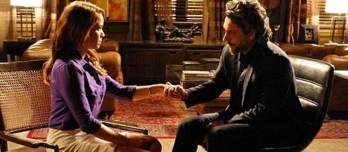Cristina e Zé Alfredo em 'Império'. (Foto: Globo).
