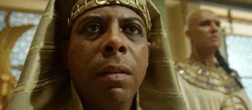 Faraó em 'Gênesis' (Reprodução/Record TV)