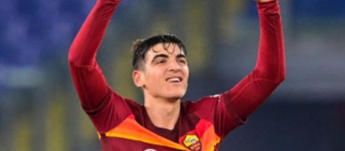 Gonzalo Villar, centrocampista della Roma.