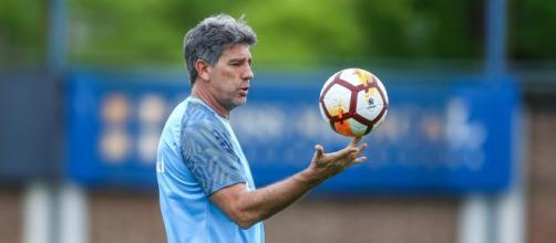 Grêmio viu relação com Renato esfarelar (Lucas Uebel/Grêmio)