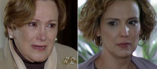 Iná e Eva em 'A Vida da Gente' (Reprodução/Rede Globo)