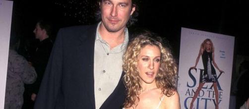 John Corbett (Aidan) e Sarah Jessica Parker pronti a tornare sul set di Sex and the city
