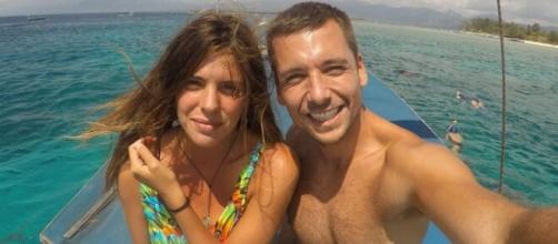 Laura Matamoros y Benji Aparicio (Instagram @benjiaparicio)