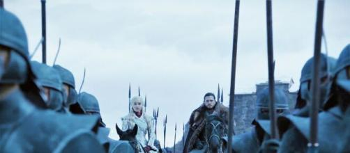 Scene of 'Game of Thrones' (Image source: Handout image)